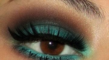 Alledaagse make-up ideeën voor bij bruine ogen