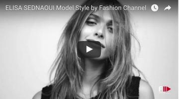 ELISA SEDNAOUI Model Style