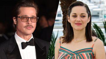Franse actrice zwanger van Brad Pitt