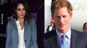 Prins Harry heeft ontmoeting met vader van Meghan!