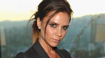 Opmerkelijke huidverzorging van Victoria Beckham