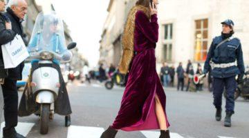 #HOT: How to wear Velvet fashion!