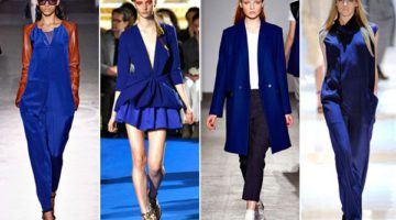 """OUTLET: kleuren combinatie met """"deep blue"""" items!"""