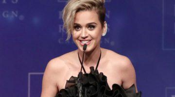 Katy Perry geeft krachtige speech bij Human Rights gala